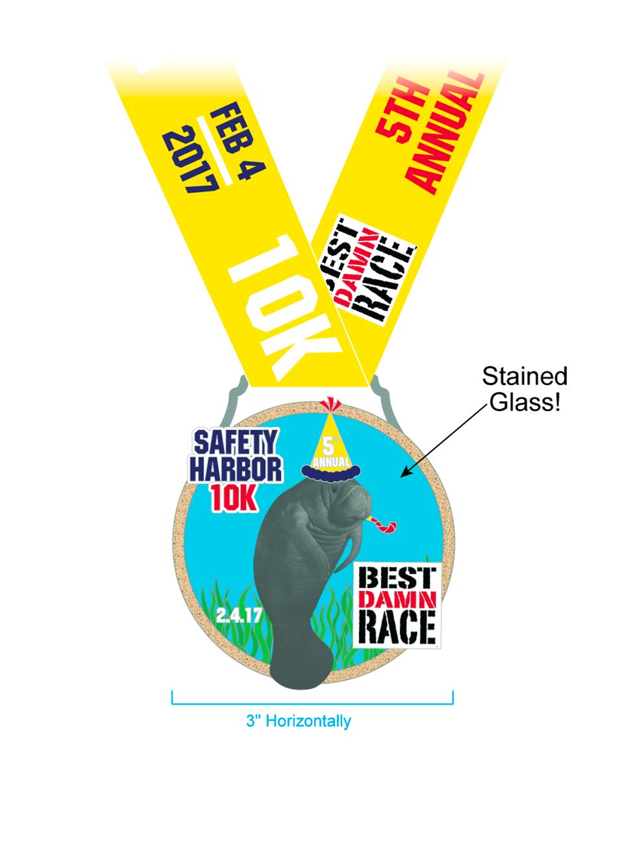 2017 - Safety Harbor - 10K Medal