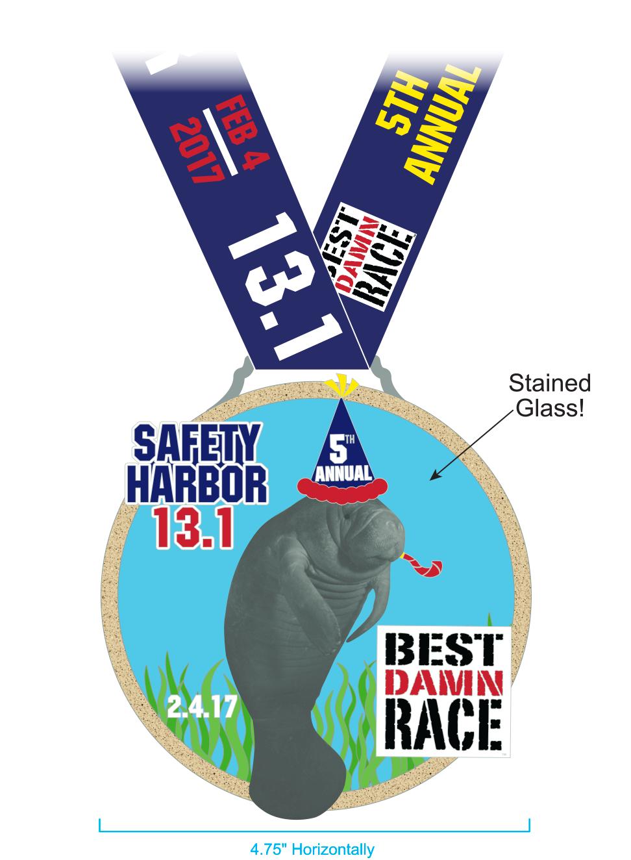 2017 - Half Marathon Medal