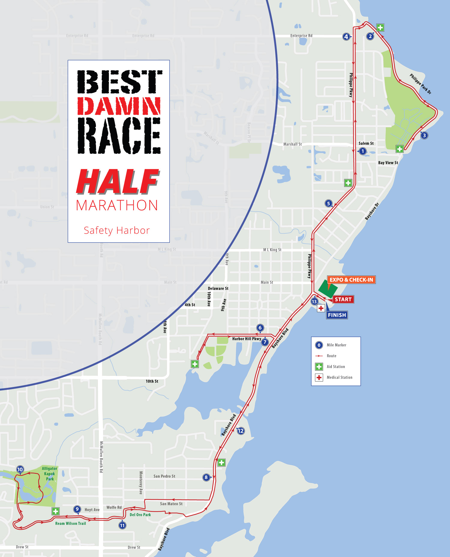 Half Marathon - Safety Harbor