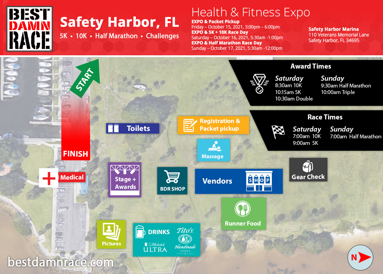 2021 Expo & Venue - Safety Harbor, FL Best Damn Race