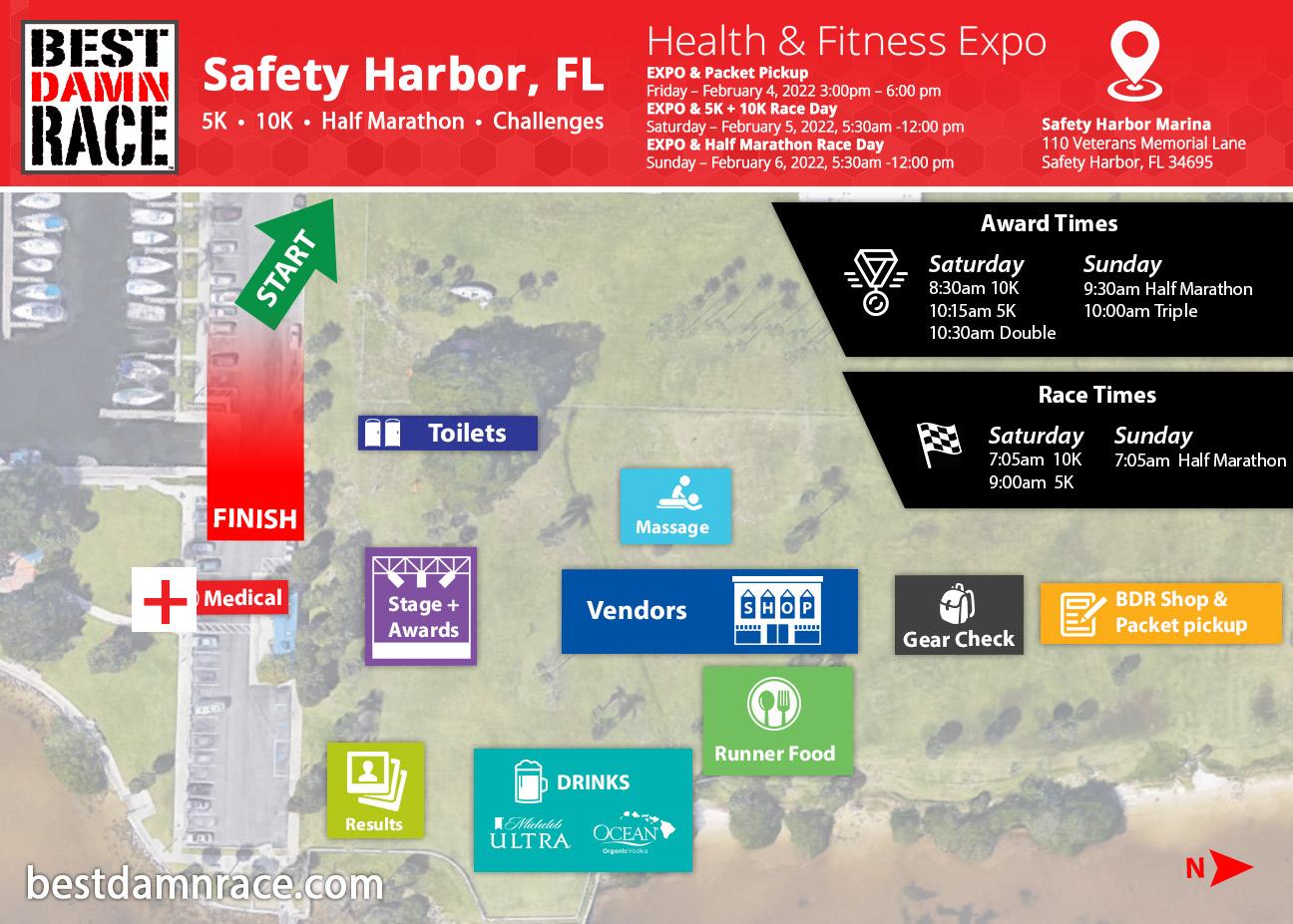 2022 Expo & Venue - Safety Harbor, FL Best Damn Race